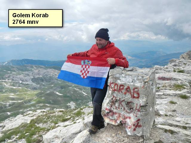 Golem Korab 2764 mnv - Makedonija
