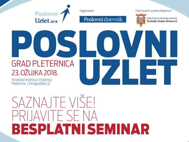 Poslovni uzlet Pleternica