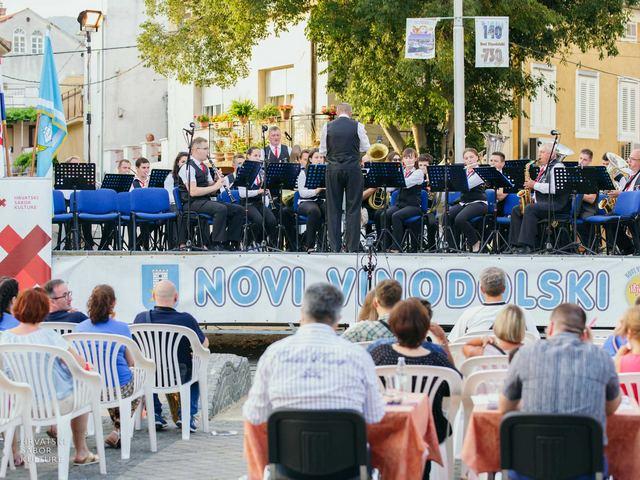 Nastup orkestara D kategorije na Frankopanskom trgu